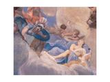 The Banquet of the Gods Giclée-tryk af Giuseppe Maria Crespi