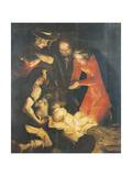 The Adoration of the Shepherds Giclee Print by Luca Cambiaso