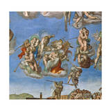 The Last Judgement, Sistine Chapel 1534-41 Giclee Print by  Michelangelo Buonarroti