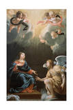 The Annunciation, 1632 Giclée-Druck von Simon Vouet