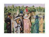 Ascot Giclee Print by Paul Gribble