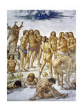 Resurrection of Flesh, from Last Judgment Fresco Cycle, 1499-1504 Giclee Print by Luca Signorelli