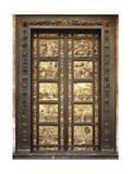 Gates of Paradise Giclée-tryk af Lorenzo Ghiberti