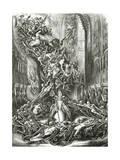 La Ronde Du Sabbat,19th Century Giclee Print by Louis Boulanger