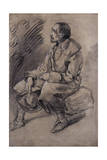 Study of a Woodman, C.1787 Giclee Print by Thomas Gainsborough