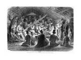 Musical Soiree in Laos, 1867 Giclee Print by Louis Delaporte