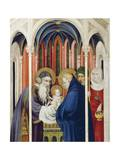 Circumcision of Jesus, Right Panel of Champmol Altarpiece, 1393-1399 Giclee Print by Melchior Broederlam