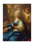 St. Cecilia Giclée-tryk af Sebastiano Conca