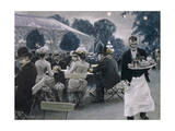An Evening in the Tivoli Gardens in Copenhagen, 1890 Giclee Print by Paul Fischer