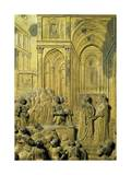 Detail from Panel Giclee Print by Lorenzo Ghiberti