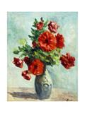 Vase of Flowers; Vase De Fleurs, 1925-1930 Giclee Print by Maximilien Luce