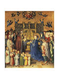 Presentation in Temple, 1447 Giclee Print by Stefan Lochner