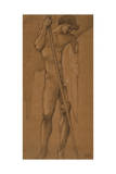 Study for Archangel Michael Giclee Print by Sir Edward Coley Burne-Jones