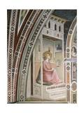 Annunciation, Detail from Stories of Virgin: Marriage of Virgin Giclee Print by Taddeo Gaddi