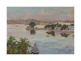 Udaipur, Lake Pichola Giclee Print by Tim Scott Bolton