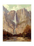 Bridalveil Fall, Yosemite Giclee Print by Thomas Hill