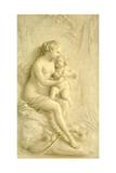 Venus and Cupid Giclee Print by Piat Joseph Sauvage