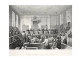 Central Criminal Court at the Old Bailey Giclee Print by Thomas Hosmer Shepherd