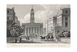 York Gate, Regent's Park and Mary-Le-Bow Church Giclee Print by Thomas Hosmer Shepherd