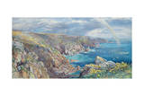South Coast of Guernsey from the Cribiere, 1862 Giclee Print by Paul Jacob Naftel