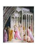 St Joachim Being Expelled from Temple, Detail from Stories of Virgin Giclee Print by Taddeo Gaddi