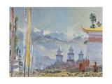 Sanga Choelling, Sikkim Giclee Print by Tim Scott Bolton