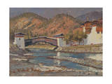 Punakha, Bhutan, 2013 Giclee Print by Tim Scott Bolton