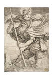 St. Christopher, C.1521 Giclee Print by Lucas van Leyden