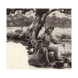 A Jolly Swagman Giclee Print by Pat Nicolle