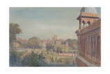Red Fort from Jama Masjid, 2004 Giclee Print by Tim Scott Bolton