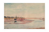 Stranded Fishing Boats, Maldon, 1933 Giclee Print by Philip Wilson Steer