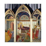 Nativity of the Virgin Giclee Print by Pietro Lorenzetti