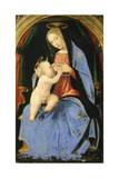 Madonna med barnet Giclée-tryk af Albertinelli, Mariotto