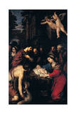 The Adoration of the Shepherds, 1623 Giclee Print by Pietro da Cortona