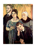 Family Group, 1912 Giclee Print by Marie Clementine Valadon