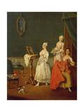 Lady at Her Toilette Giclee Print by Pietro Longhi