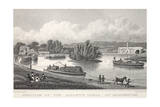 Junction of the Regent's Canal at Paddington Giclee Print by Thomas Hosmer Shepherd
