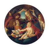 Madonna of the Magnificat Giclee Print by Sandro Botticelli