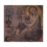 Madonna of Humility Giclée-tryk af Lorenzo Monaco
