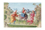 Flight into Egypt, 16th Century Giclee Print by Marco Meloni