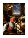 St. Charles Borromeo Giclee Print by Pierre Mignard
