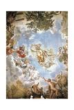 Vault Frescoed Giclee Print by Pietro da Cortona