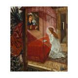 The Annunciation Giclee Print by Sir Edward Coley Burne-Jones