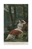 The Empress Josephine in the Park at Malmaison Giclee Print by Pierre-Paul Prud'hon