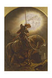 Sir Galahad's Vision of the Holy Grail, 1879 Giclee Print by Sir Joseph Noel Paton