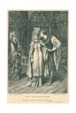 Illustration for Shakespeare's King Henry V Giclee Print by Frank Bernard Dicksee