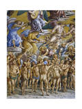 Blessed in Paradise, from Last Judgment Fresco Cycle, 1499-1504 Giclee Print by Luca Signorelli