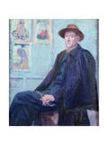 Portrait of Felix Feneon Giclee Print by Maximilien Luce