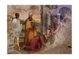 Adoration of the Magi, Fresco Giclee Print by Teramo Piaggio