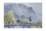 Paro Dzong, Bhutan, 2013 Giclee Print by Tim Scott Bolton